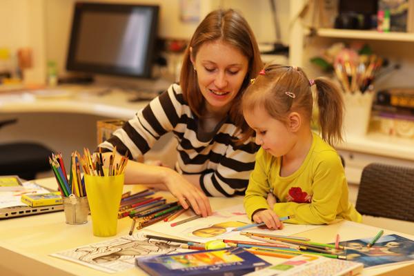 Творчі заняття для дітей 3-4-5 років