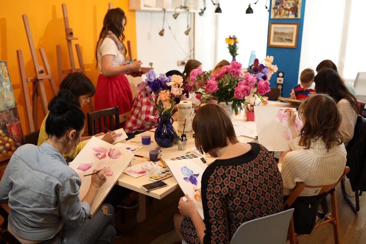 Курс живопису та рисунку для дорослих - фото