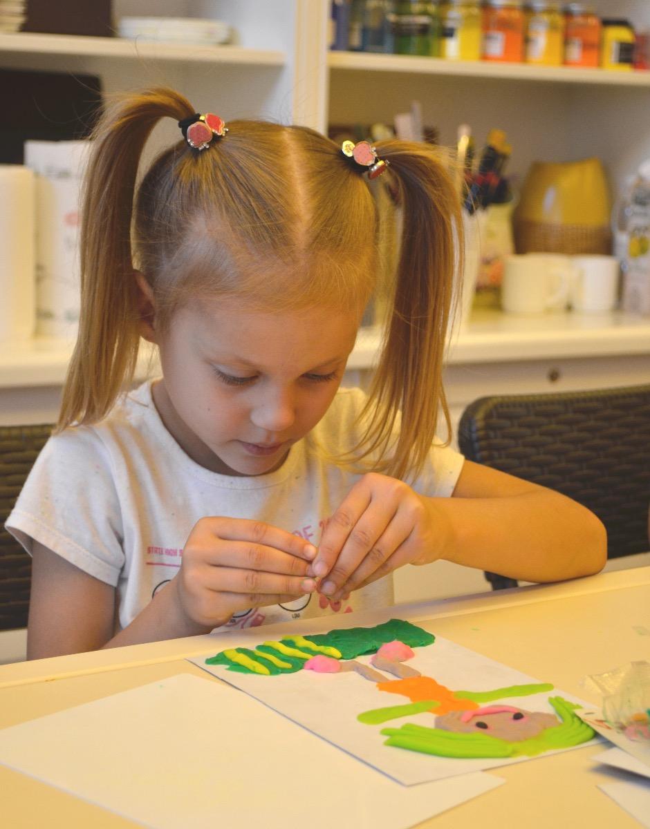 Арт-занятия для деток (3-5 лет) - фото