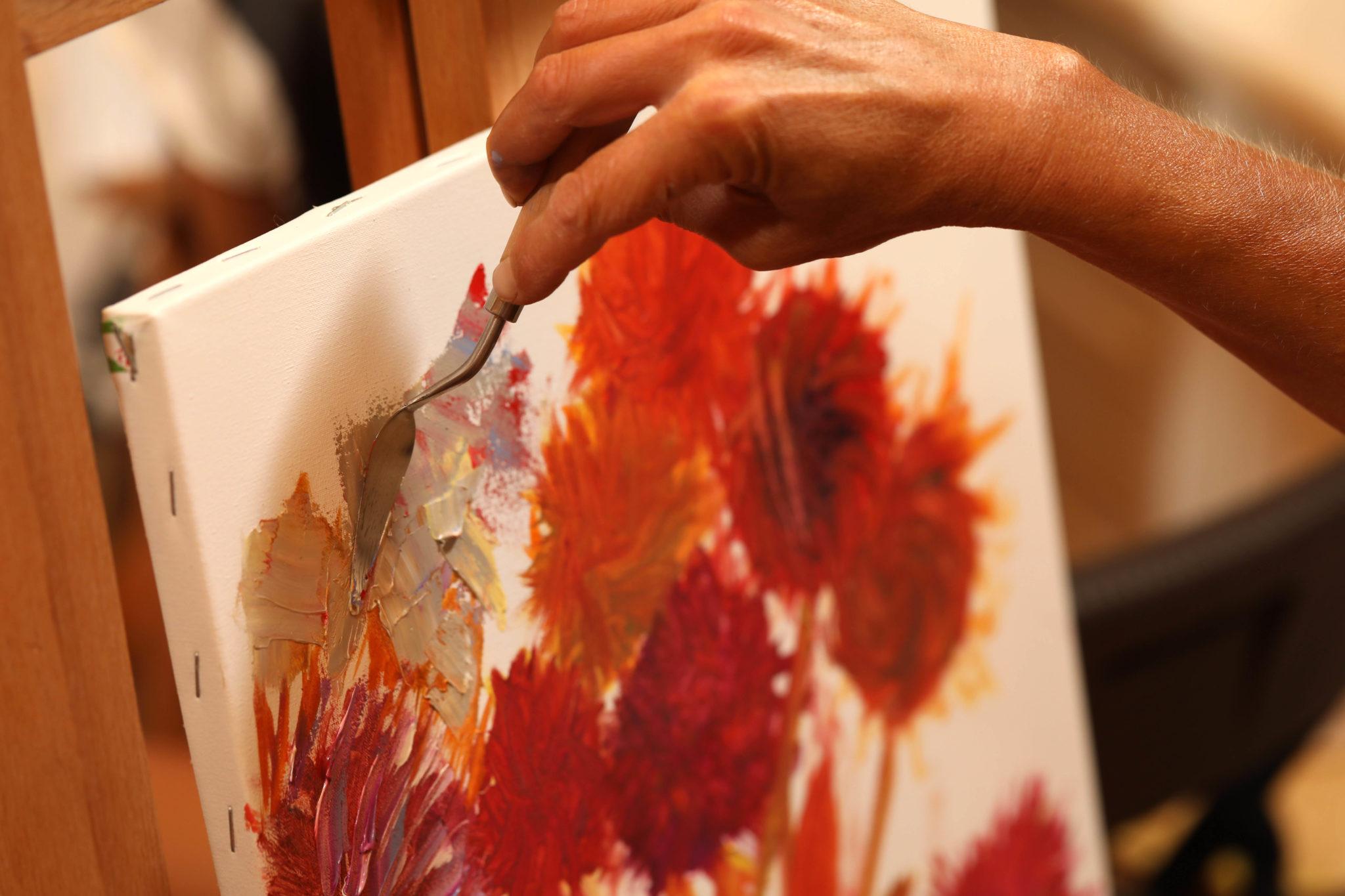 Мастер-класс Веры Крутилиной «Летние цветы» - фото