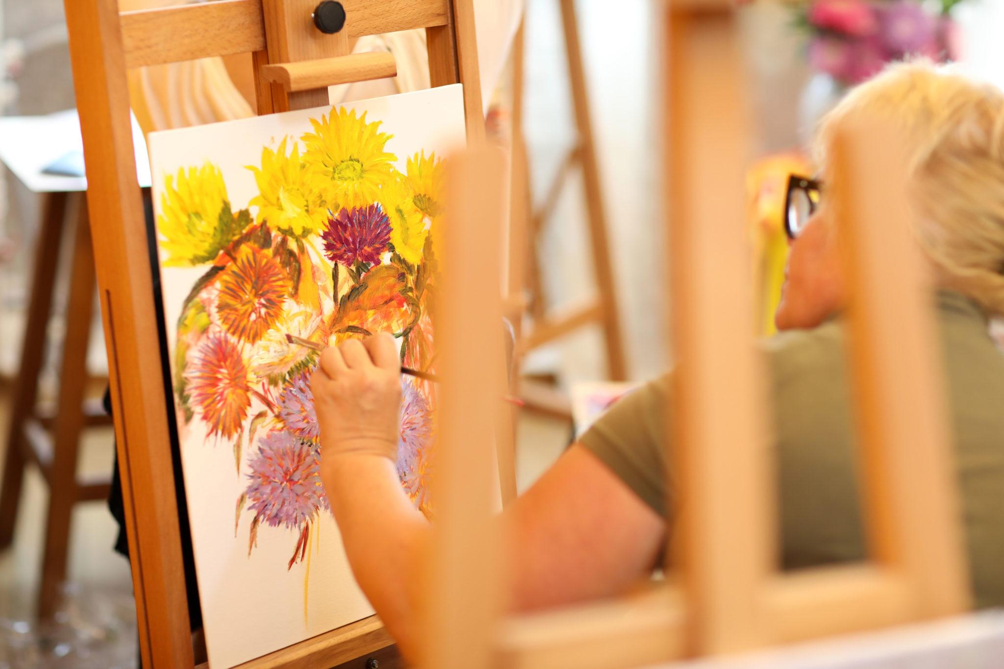 """Майстер-клас Віри Крутіліної """"Літні квіти"""" - фото"""