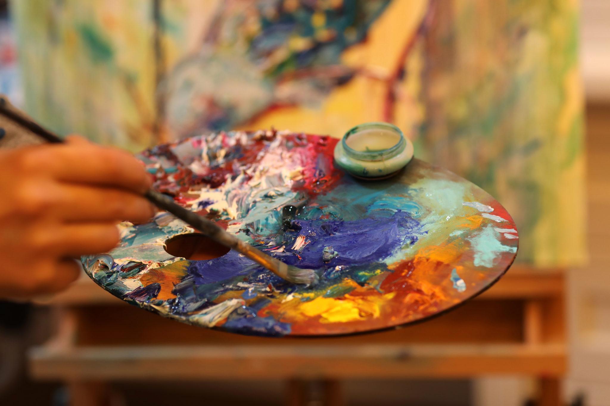 Картина в стиле импрессионизм - фото