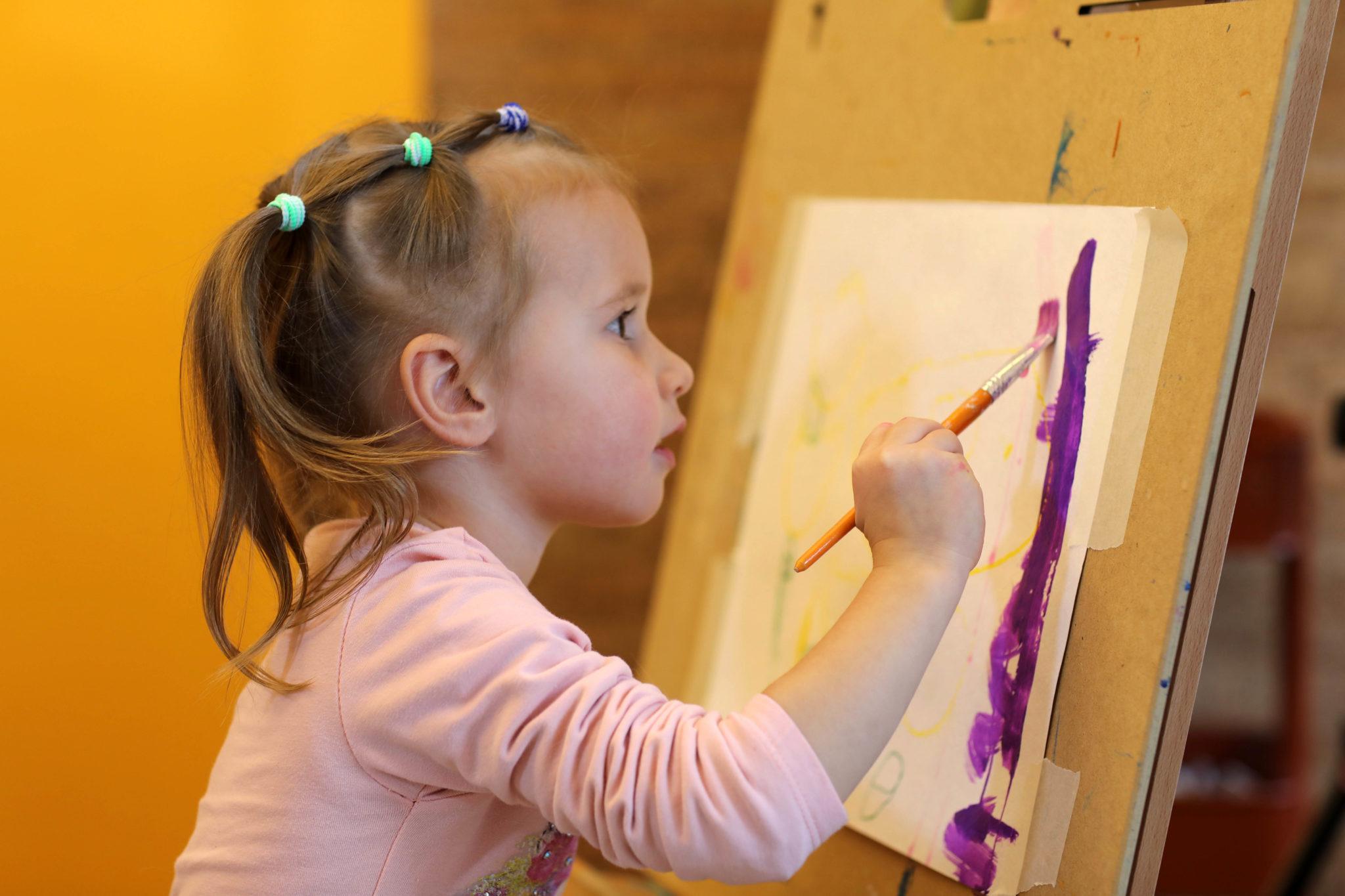 Арт-занятия для деток от 3 до 5 лет - фото