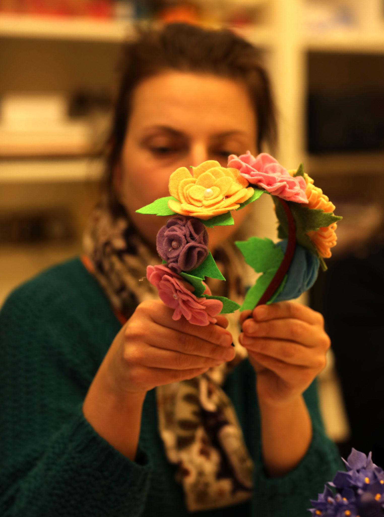 Мастер-класс «Цветочные украшения» - фото
