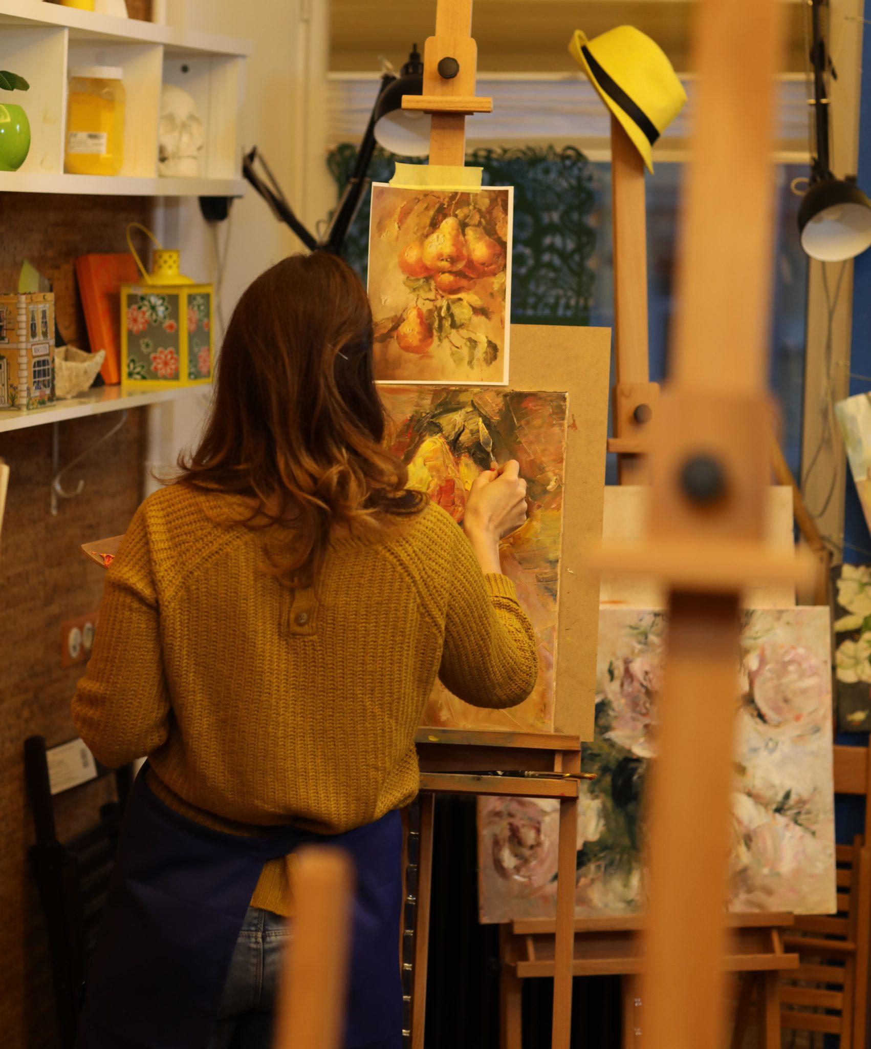 Мастер-класс «Масляный натюрморт» - фото
