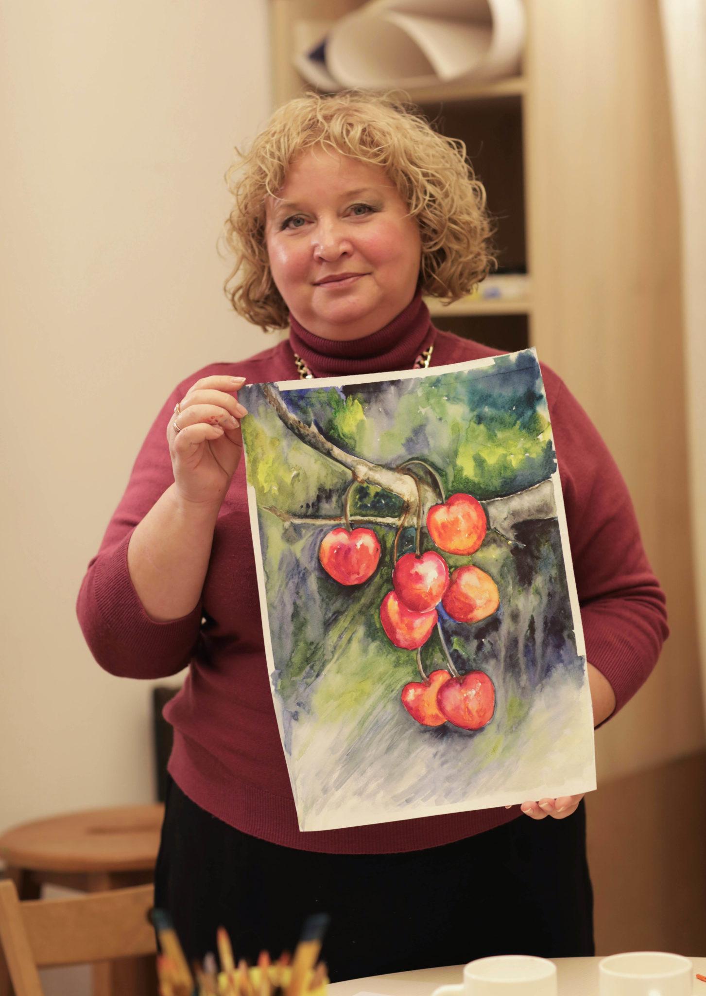 """Майстер-клас """"Осінні ягоди та фрукти"""" - фото"""