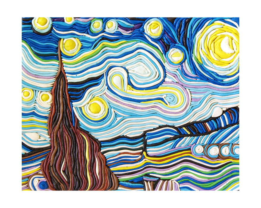 plasticine_starry_night__by_arsiart-d39nyyr