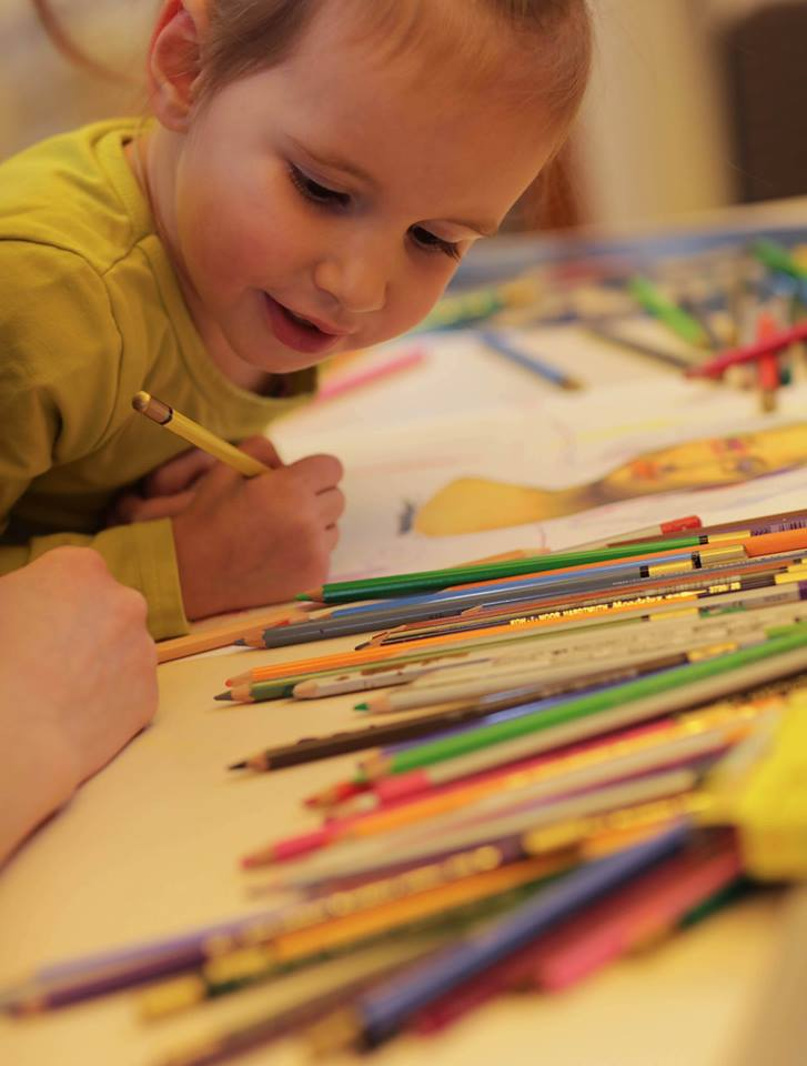 Арт-занятие с детками 3-5 лет «Мона Лиза» - фото