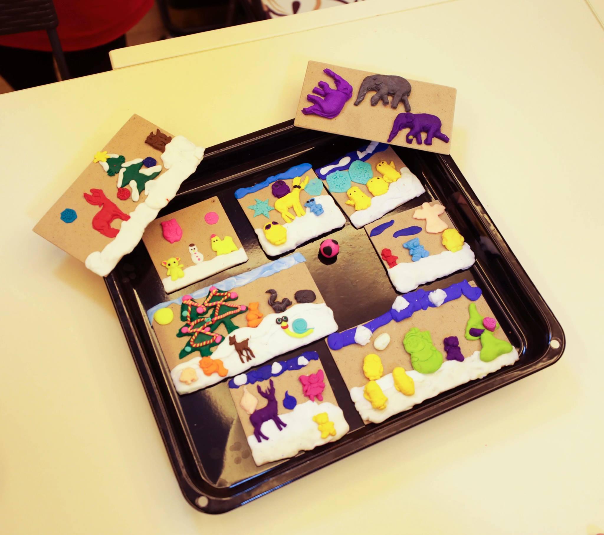 """Майстер-клас """"Новорічні іграшки з полімерної глини"""" - фото"""