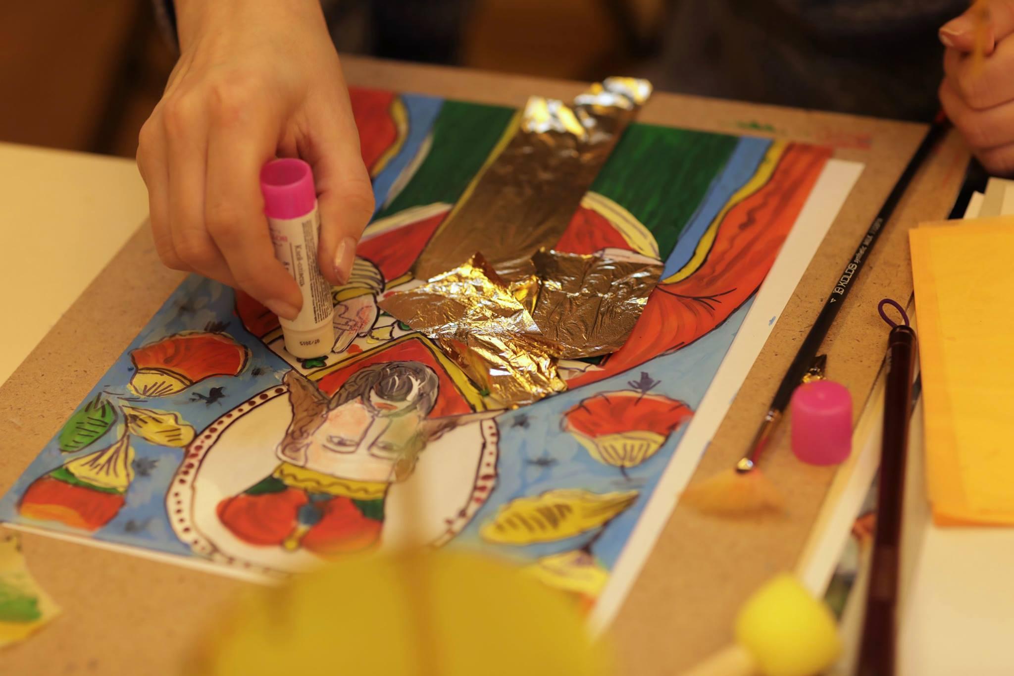 Мастер-класс «Икона Святого Николая» - фото