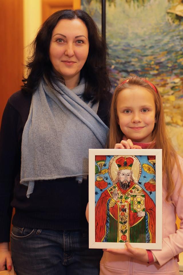 """Майстер-клас """"Ікона Святого Миколая"""" - фото"""