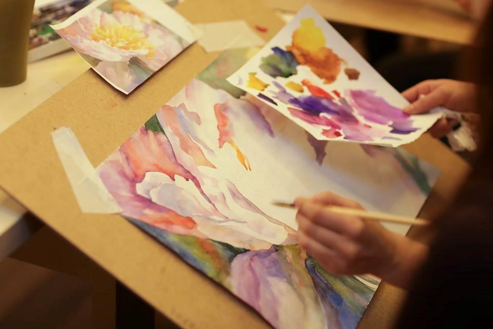 Уроки малювання аквареллю