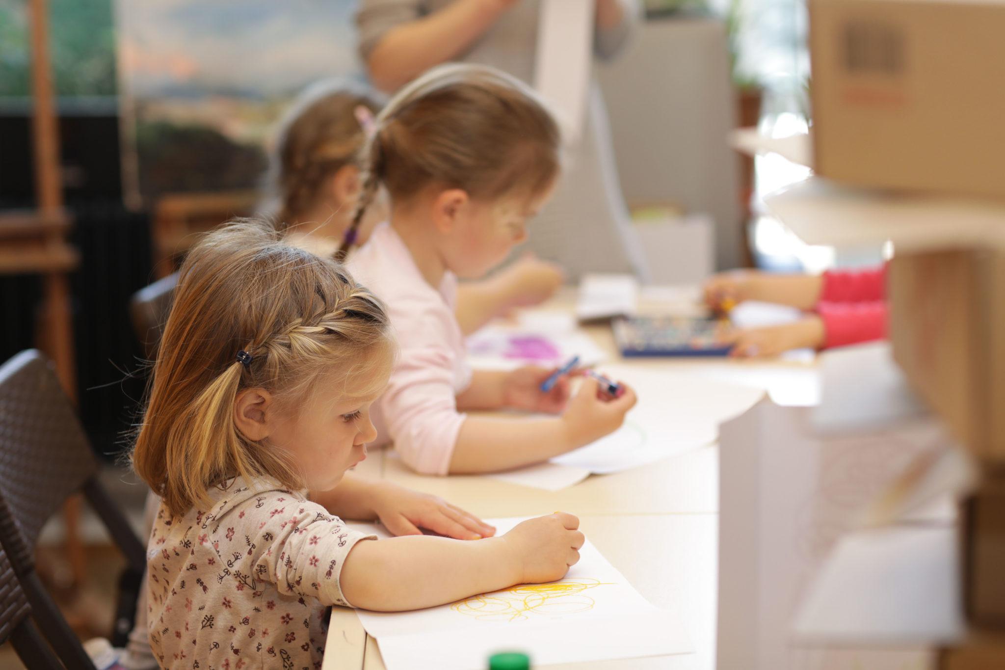 Арт-занятия для детей 3-5 лет - фото