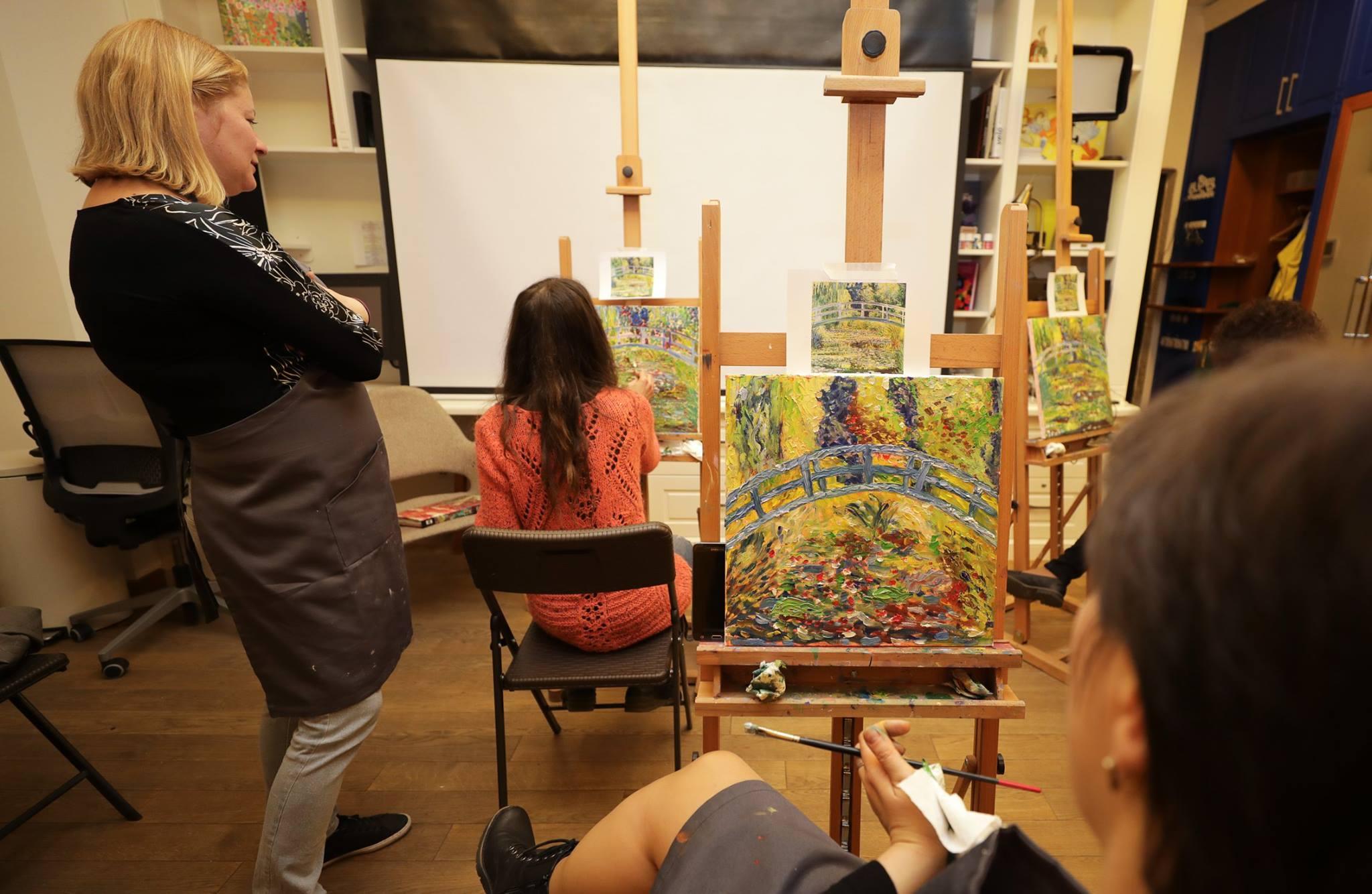 Бронирование мастерской для мастер-класса масляной живописи - фото