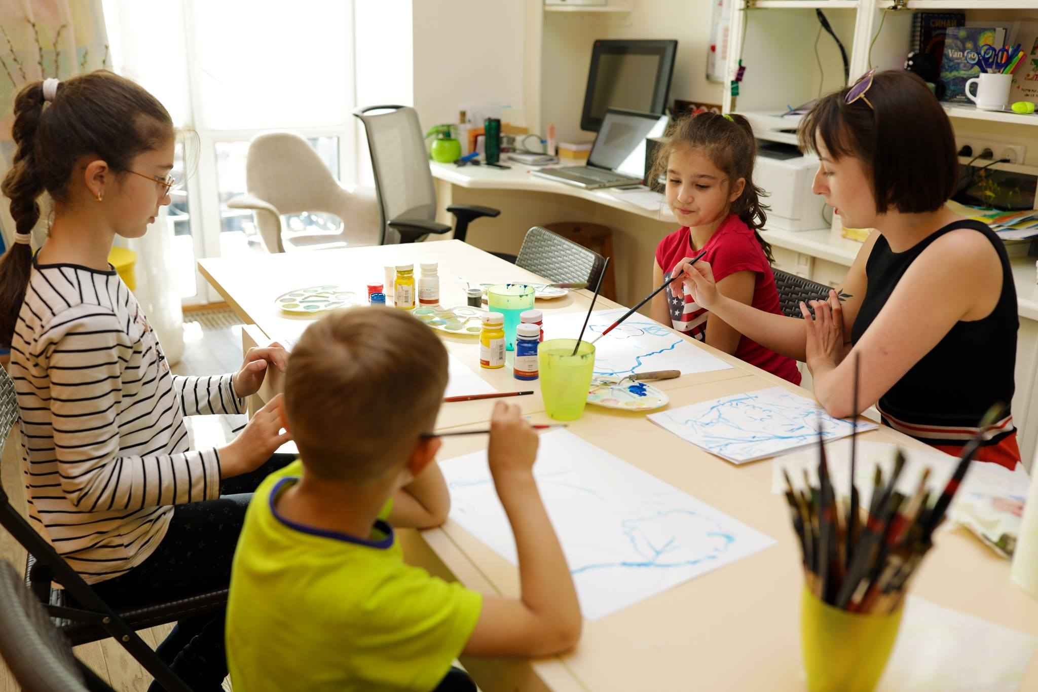 Творчі заняття для дітей 3-4-5