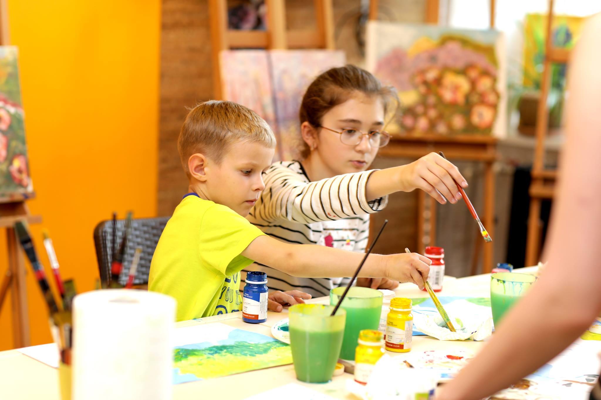 АРТ занятия для детей 3-4 лет