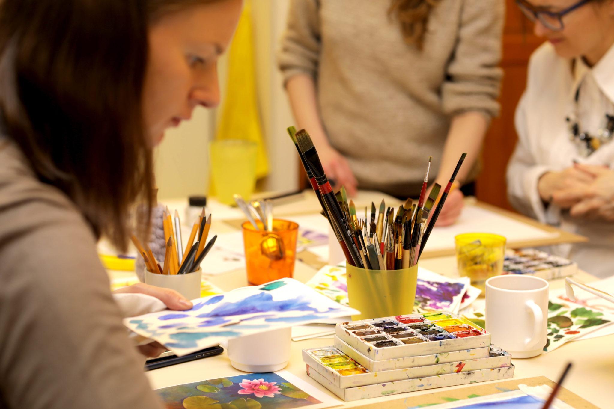 Занятия на английском языке рисованию для детей 6-9 лет