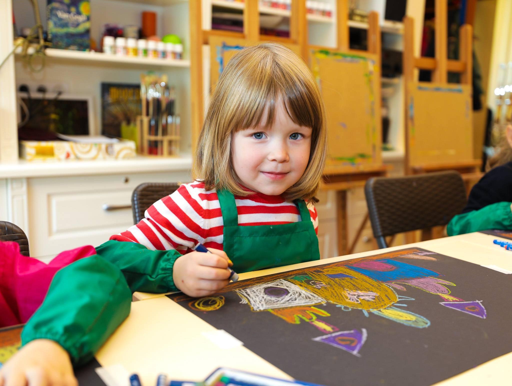 Курс малювання для дітей 6-8