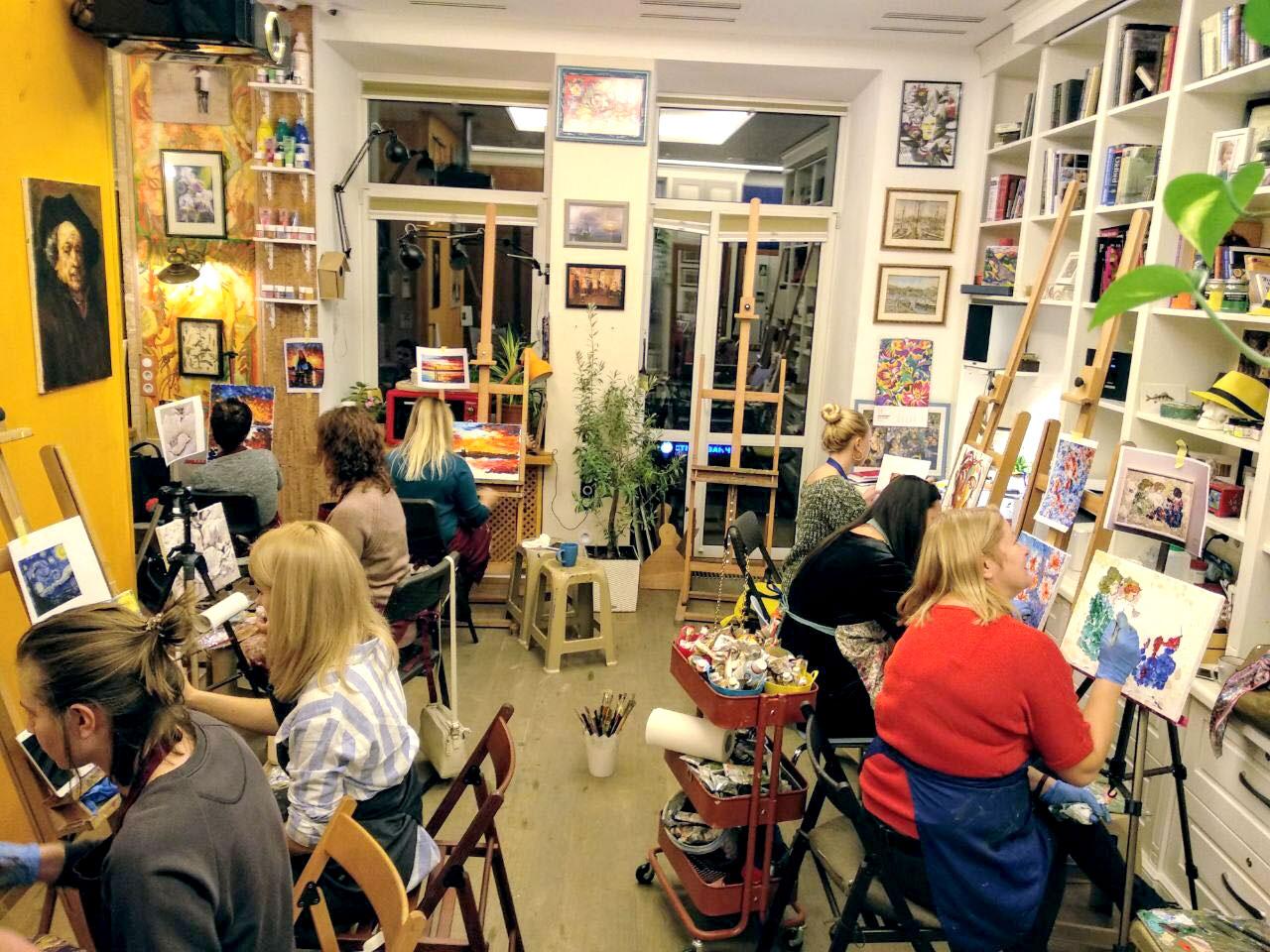 Курси малювання і живопису для дорослих