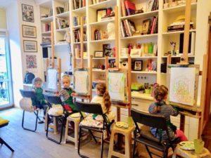 kursy-risovaniya-dlya-detei-300x225 Курс творческие занятия для детей
