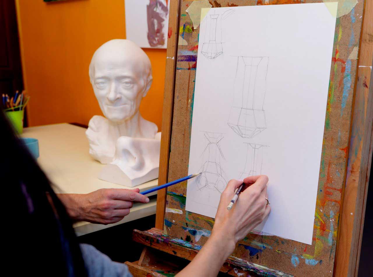 Подготовка к поступлению в художественный институт