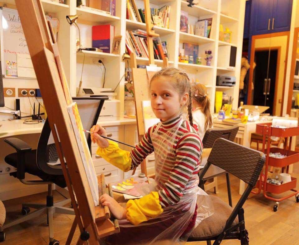 Курсы рисования для детей 6-12 лет