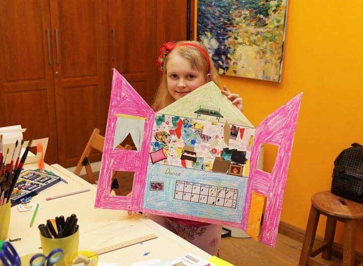 курсы рисования для детей 6-8 лет