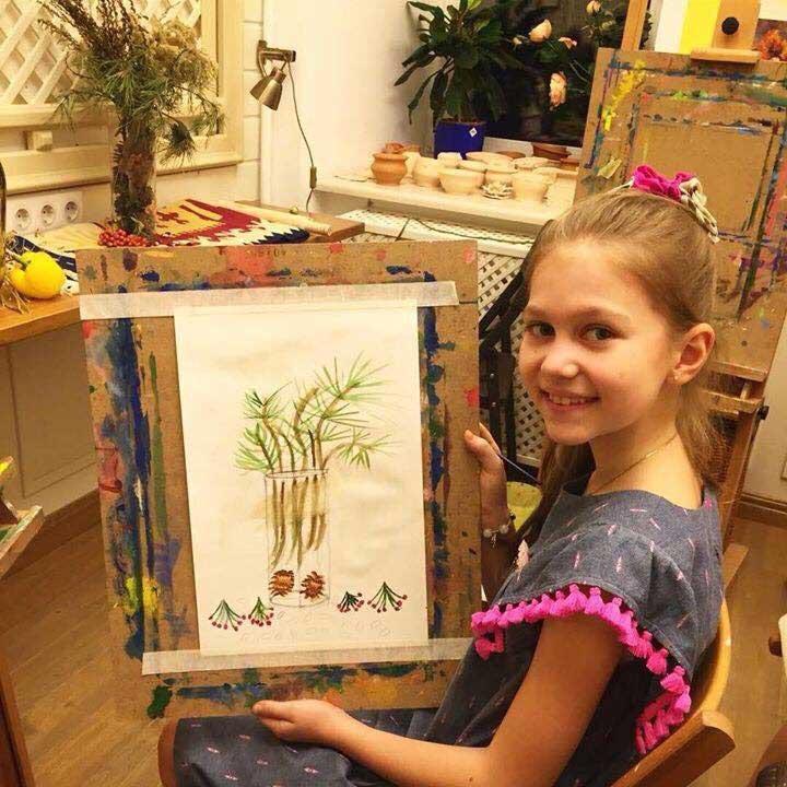 Курсы рисования для детей 8-12 лет