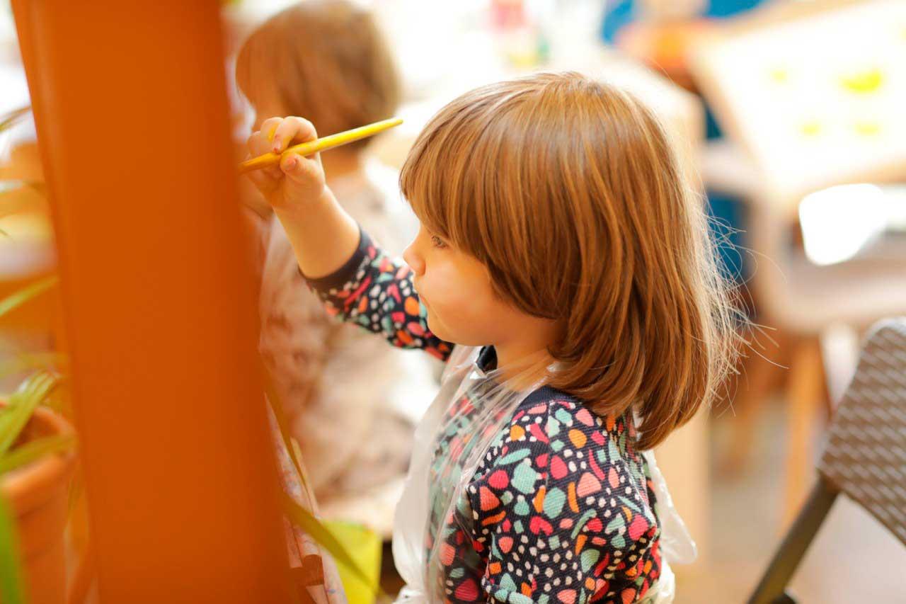 Курсы рисования на английском для детей 3-6 лет
