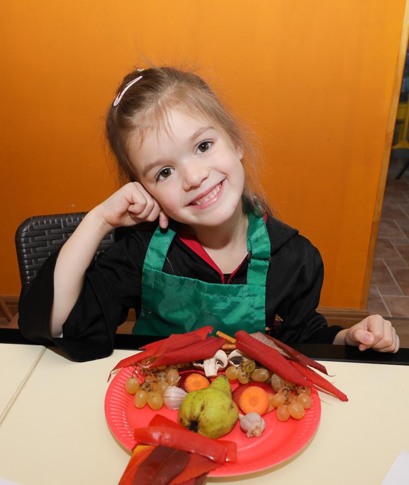 Арт-занятия  » Натюрморт с овощей и фруктов» - фото