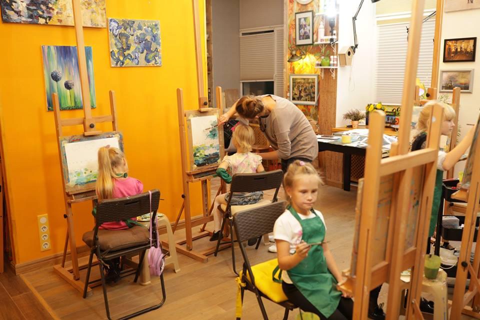 Рисование для деток 6 — 8 лет - фото