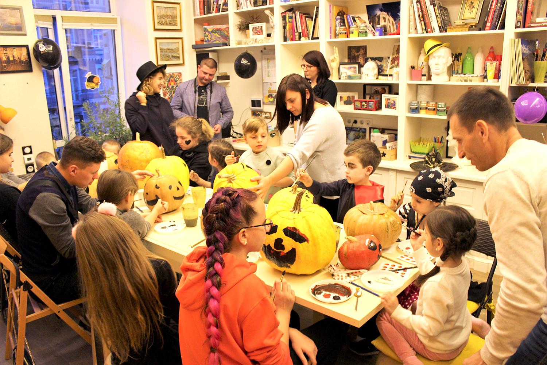 АРТ вечеринка Хеллоуин - фото