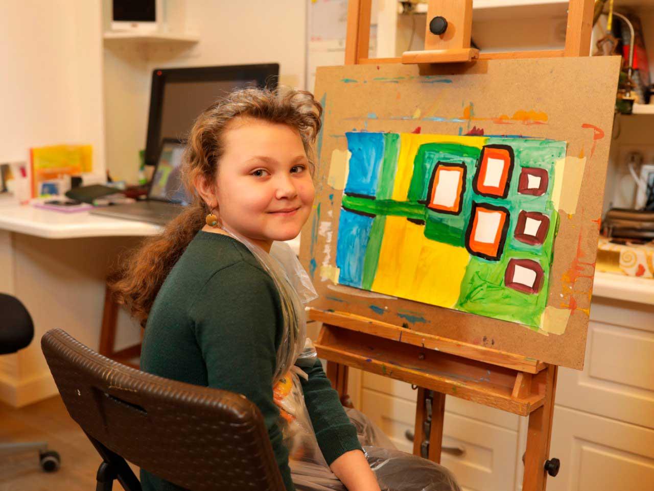 Курсы рисования на английском для детей 12 - 15 лет