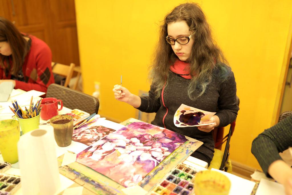 Уроки малювання аквареллю - фото