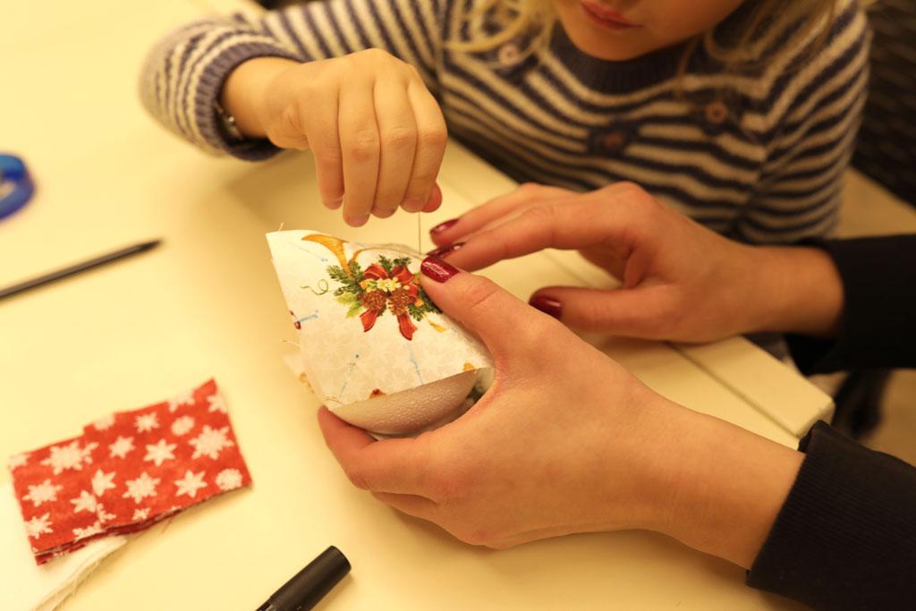 """Майстер-клас """"Новорічна іграшка з побажанням"""" 27 грудня - фото"""