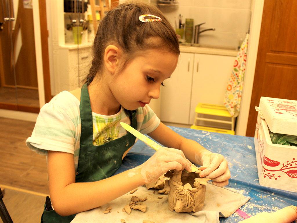 Курс Лепки из глины для детей - фото