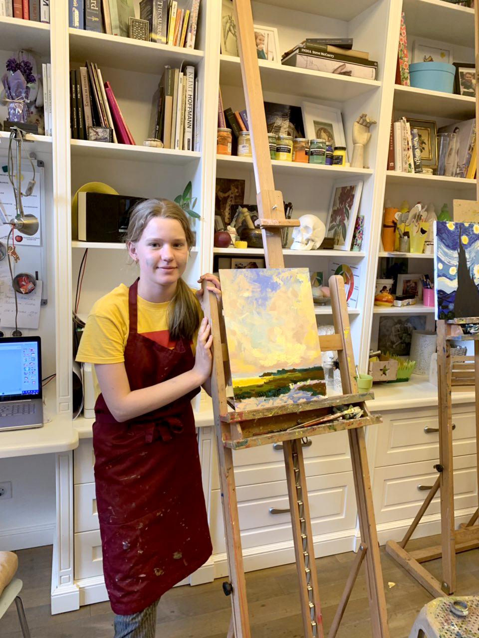 Курс малювання для дітей 10-14 років - фото
