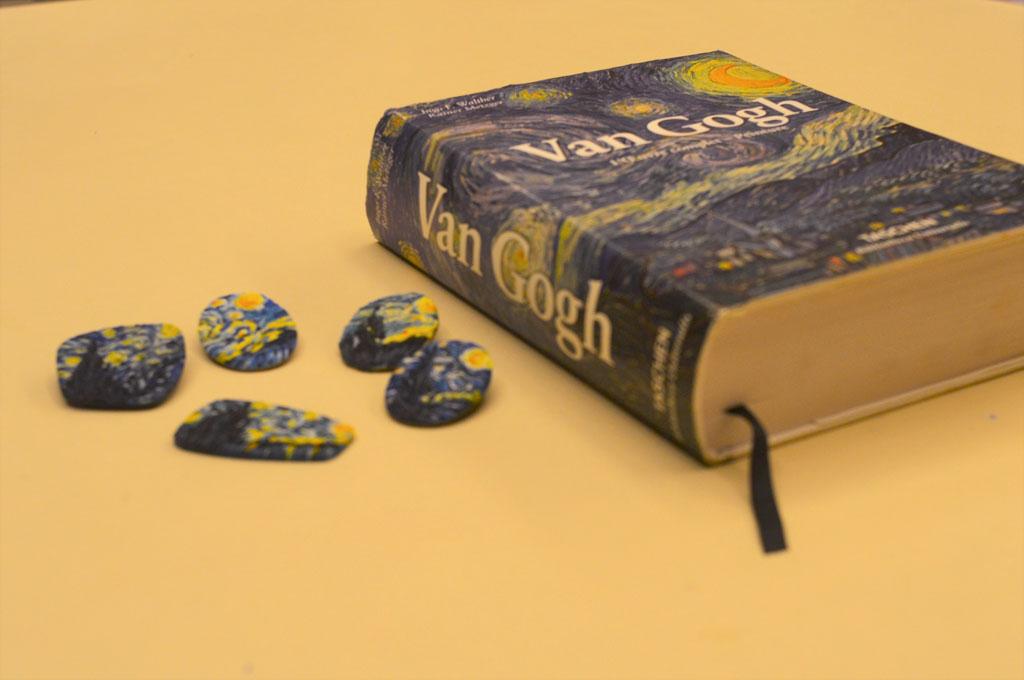 """Майстер-клас з полімерної глини """"Ван Гог"""" 17 березня - фото"""