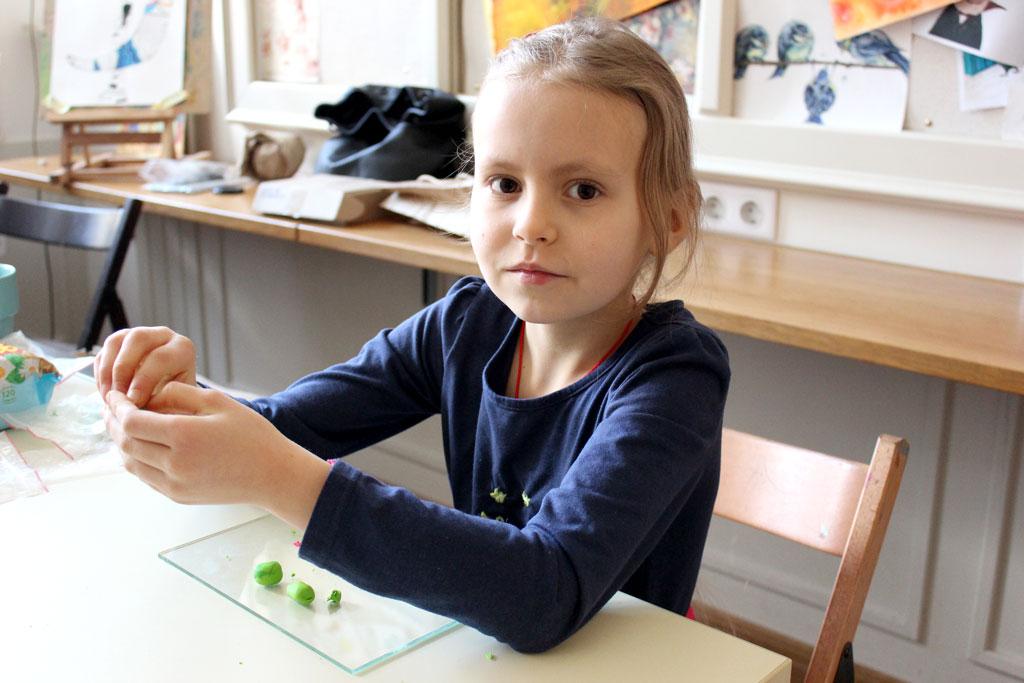 Мастер-класс по полимерной глине в технике ИКАТ 23 февраля - фото