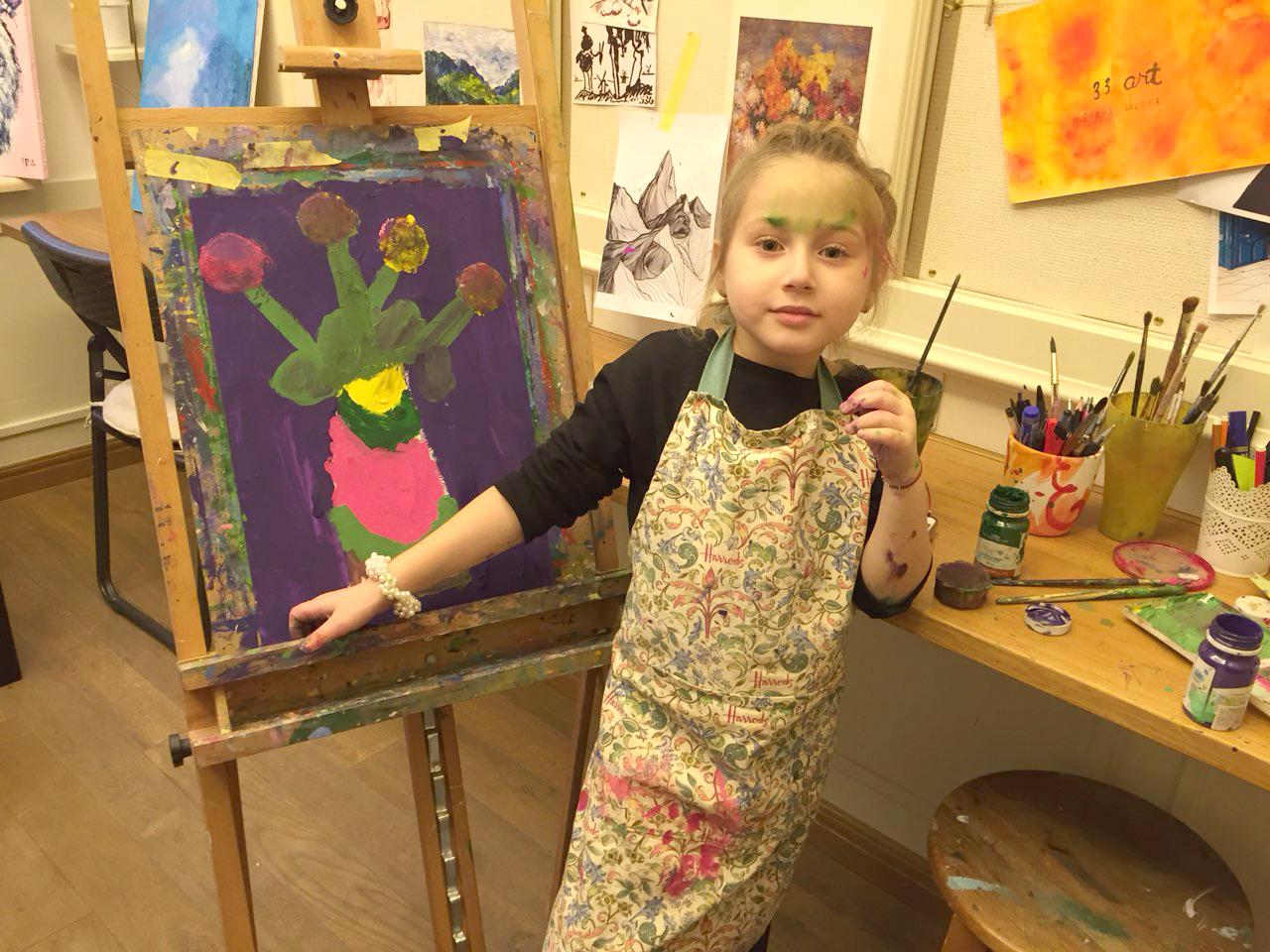 Курс рисования для детей 6-12 лет - фото