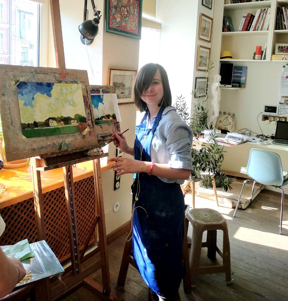 Курс рисования для детей каждую среду и пятницу - фото
