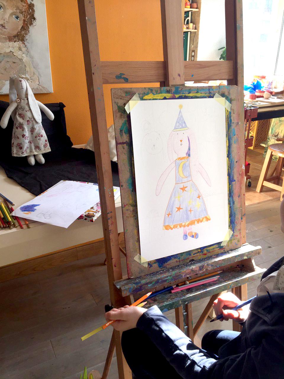 Курс академічного малюнку та живопису для дітей ЩОВІВТОРКА о 16:30 - фото