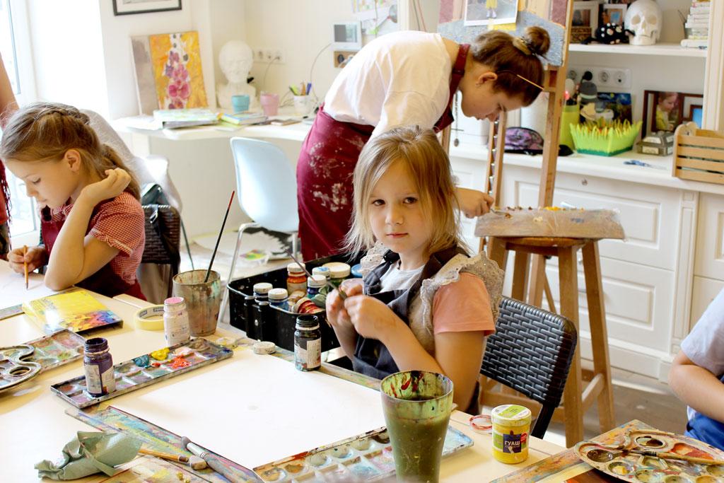 Курс малювання для дітей 6-12 років - фото