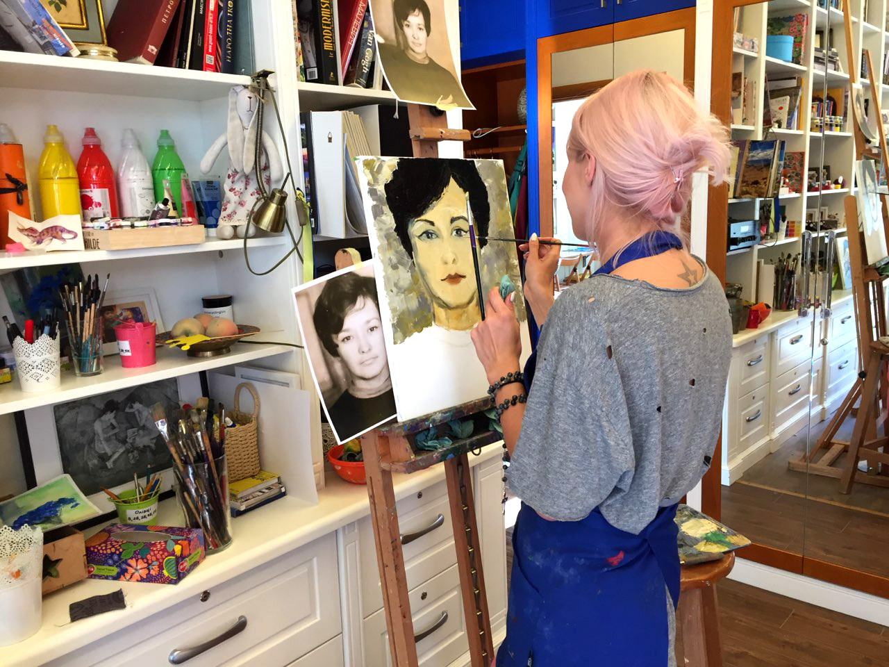 Курс масляной живописи для взрослых - фото