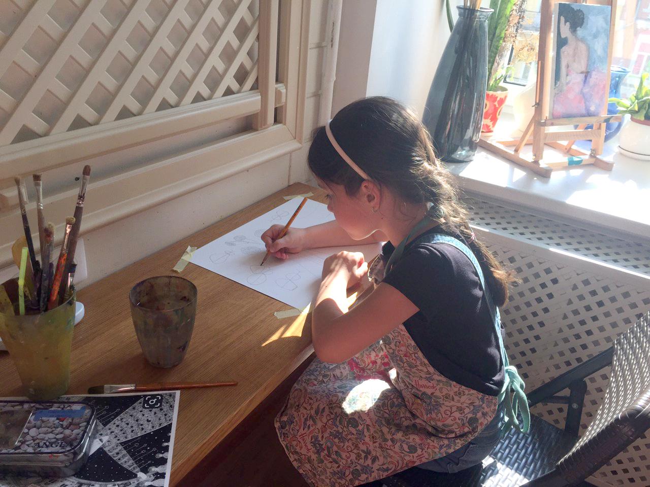 Рисование для детей 6-12 лет - фото