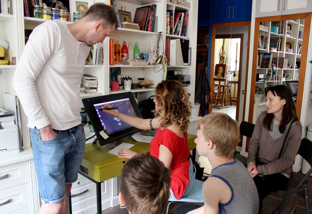 Безкоштовний майстер-клас з 3d графіки 14 червня - фото