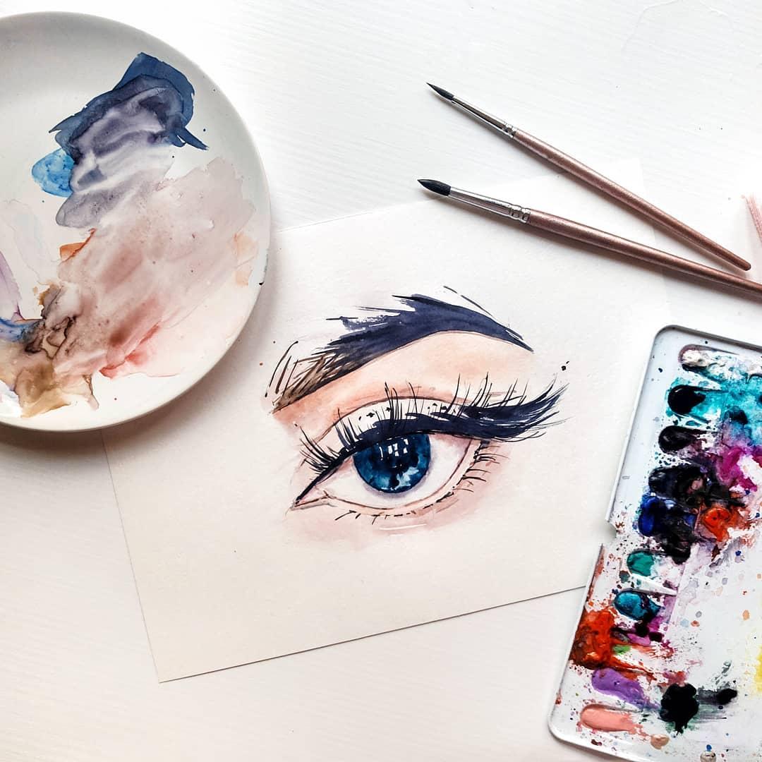 глаз image