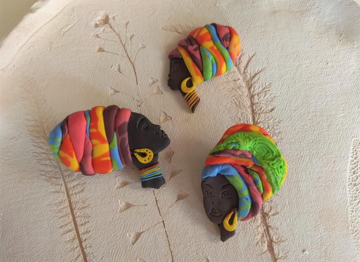 """Майстер-клас з полімерної глини """"Африканська красуня"""" 9 червня - фото"""