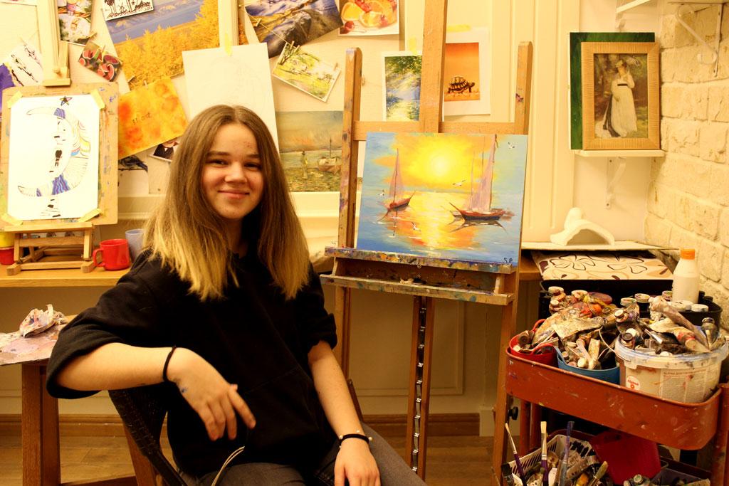 Рисунок и живопись для детей 11-15 лет