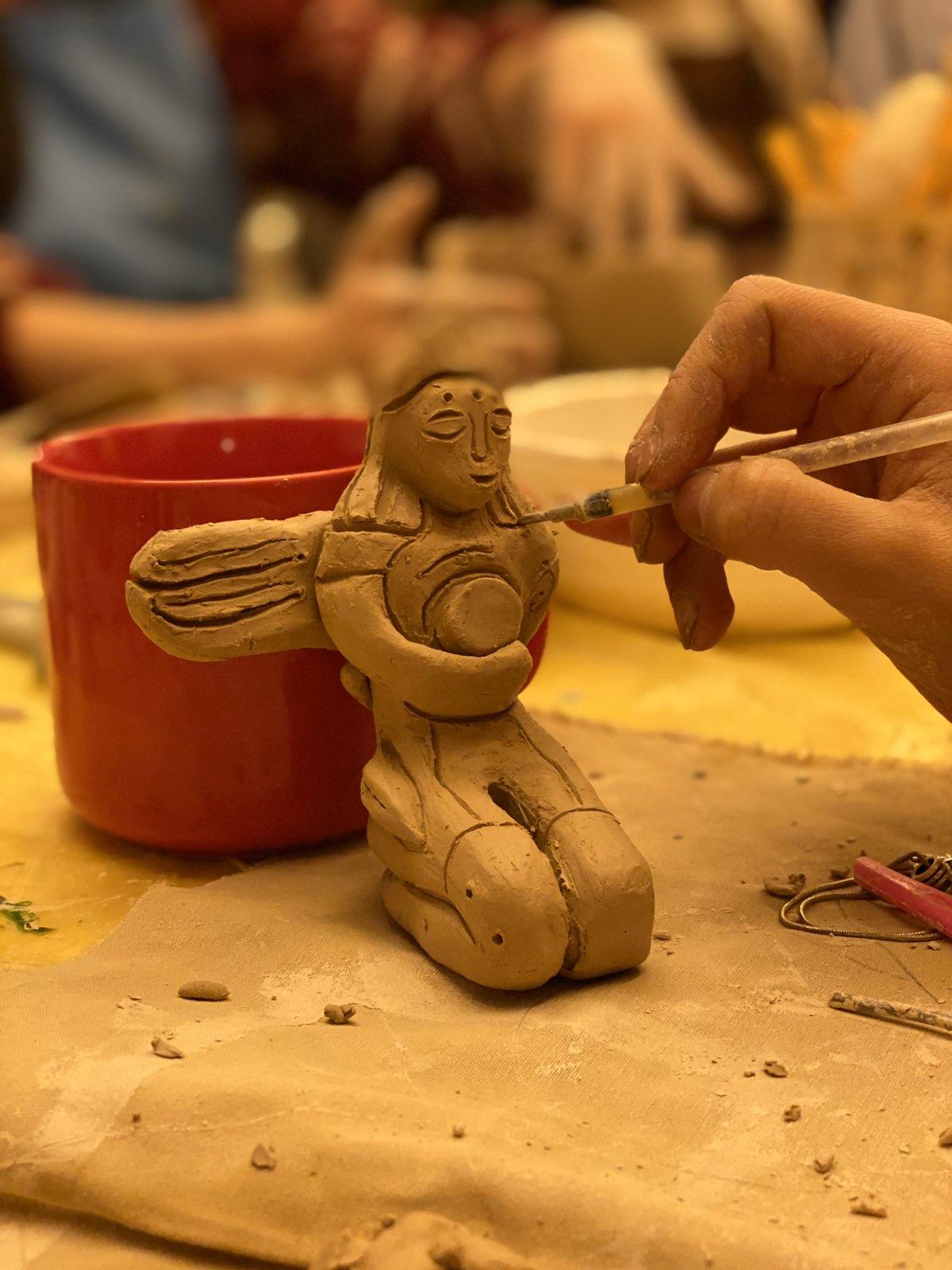 Майстер-клас з кераміки 2 лютого - фото